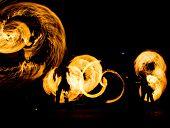 Gasoline Dance Flaming Trails  poster