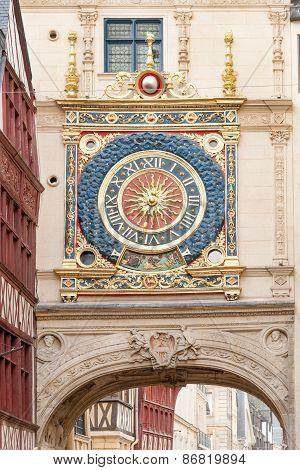 Gros Horloge clock tower