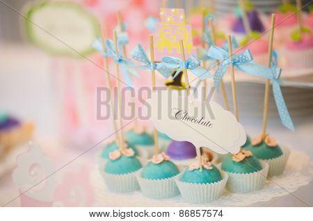 wedding dessert Cake pops
