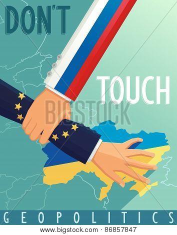 Russia stops scenario Euro Union in Ukraine