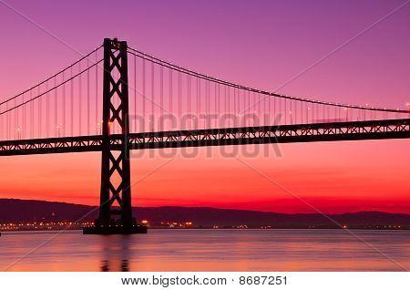 Bay Bridge, San Francisco, California.