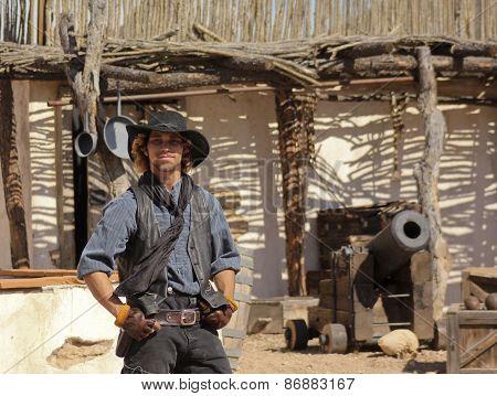 An Actor At Old Tucson, Tucson, Arizona