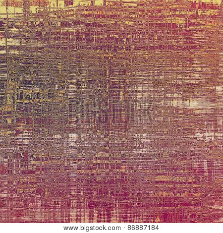 Grunge stained texture, distressed background with space for text or image. With different color patterns: yellow (beige); brown; purple (violet); pink