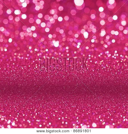 Abstract red background. Red glitter texture background.