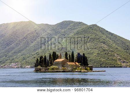 Church Island Sveti Dordje In Kotor Bay