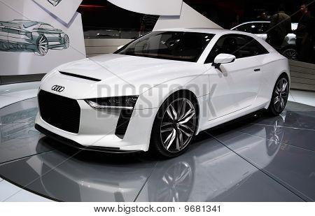 Audi Quattro Concept At Paris Motor Show