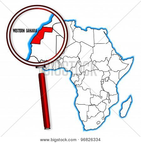 Western Sahara Under A Magnifying Glass