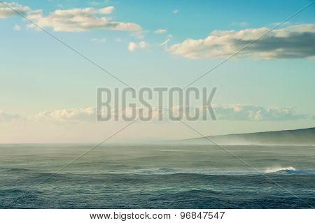 Seaspray On The Distant Shore