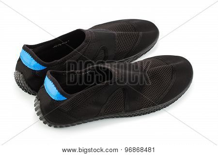 Water Shoes Isolated.