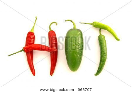 'Hot' Peppers