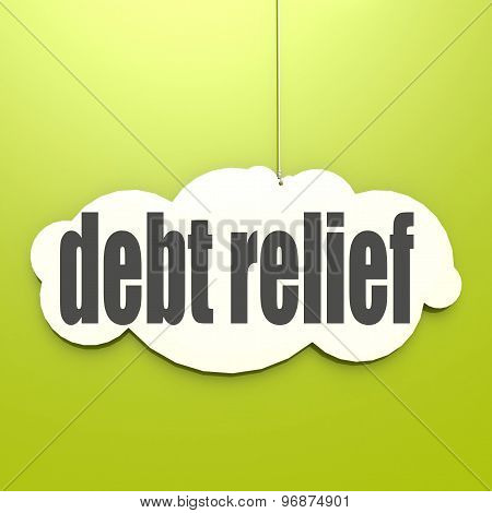 White Cloud With Debt Relief
