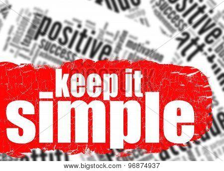 Word Cloud Keep It Simple