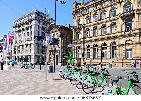 City centre buildings, Liverpool.