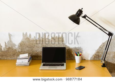 Laptop On Working
