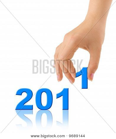 Numbers 2011 And Hand