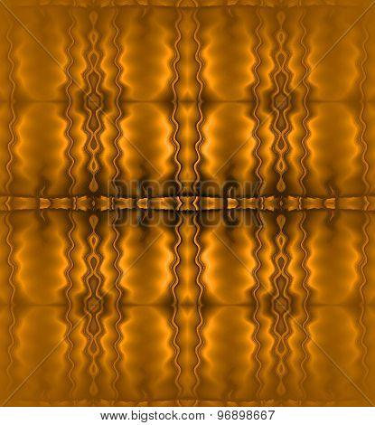 Seamless pattern gold brown