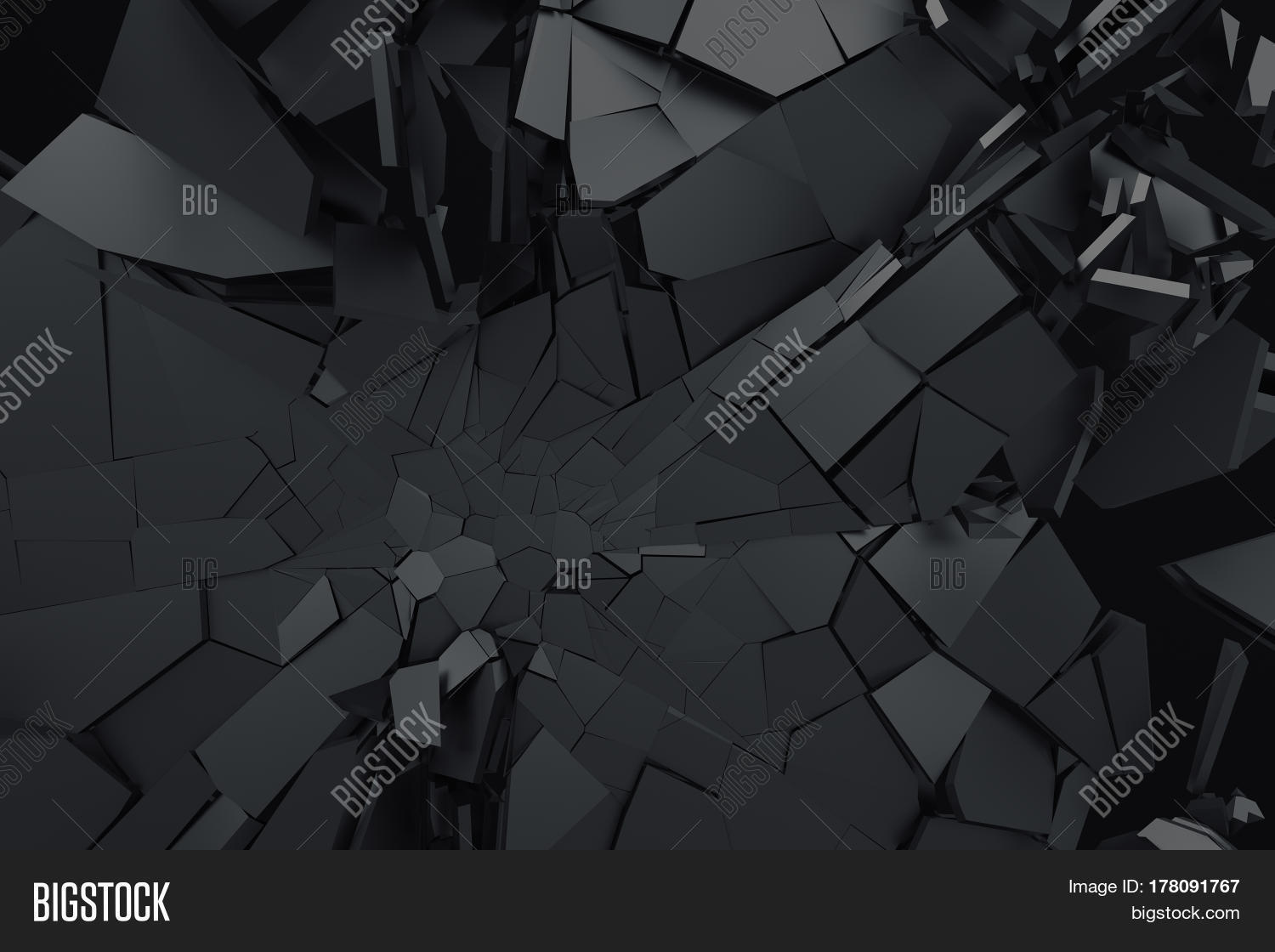 Abstract 3d Rendering Image Photo Free Trial Bigstock