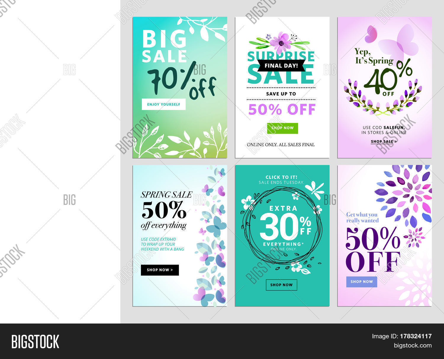Mobile Sale Banner Vector Photo Free Trial Bigstock
