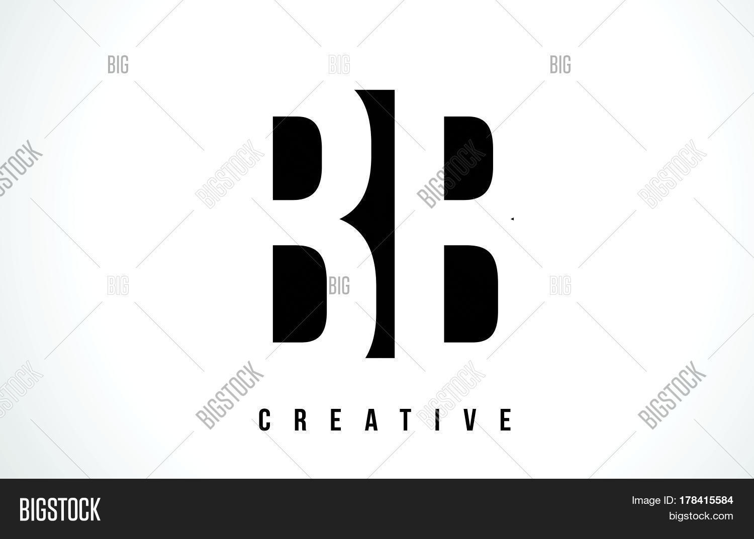 Bb B B White Letter Vector Photo Free Trial Bigstock