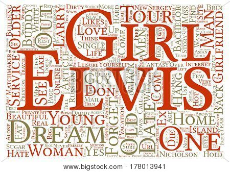 Dirty Old Men Get Their Dream Girls text background word cloud concept