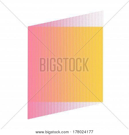 Halftone Dots. Dots on White Background. Halftone Texture. Halftone Dots. Halftone Effect. Vector. Background halftone. Pink and yellow. Comic book background
