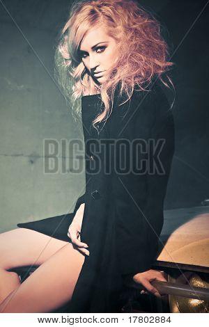 High Fashion Model