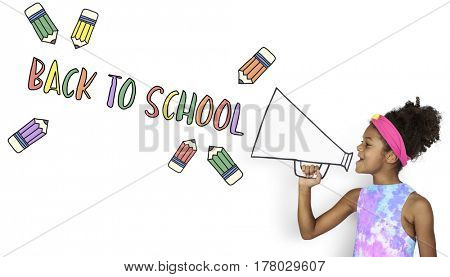 Back To School Education Study Graphic
