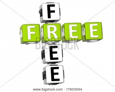 3D Free Crossword