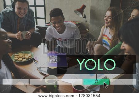 Yolo Dream Life Motivation Explore Adventure