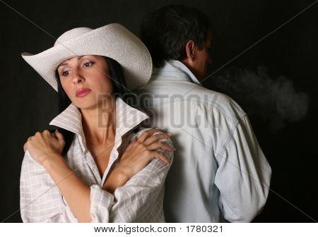 Menina bonita no chapéu