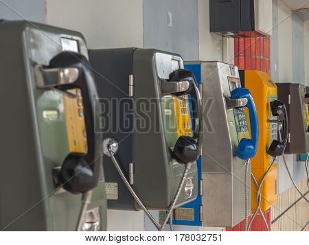 Phones On The Wall
