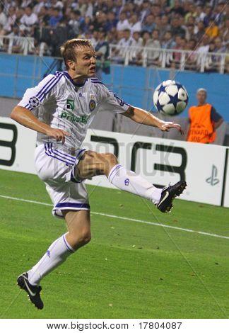 Oleg Gusev Of Dynamo Kyiv