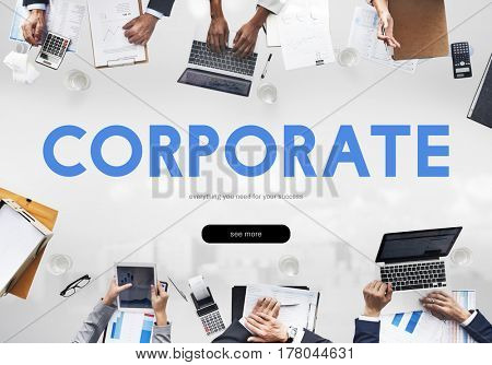 Corporate Business Company Corporation Word