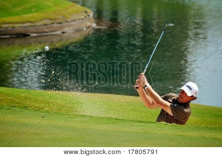 Phil Mickelson Sand Trap