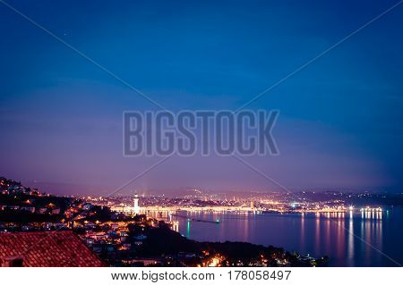 Evening In The Gulf Of Trieste