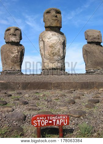 Moai of Easter Esland