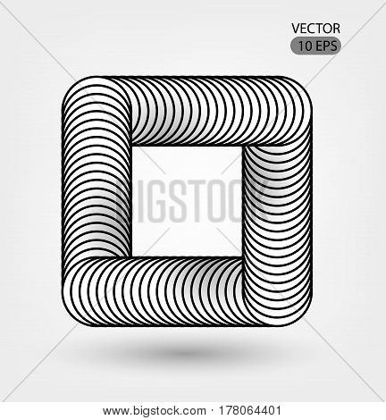Optical Illusion Illustration
