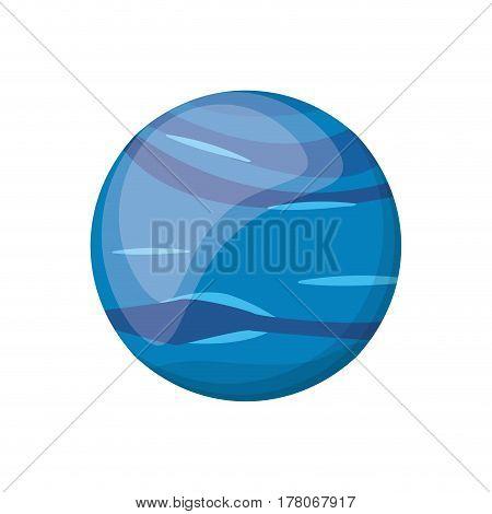 neptune planet space image vector illustration eps 10