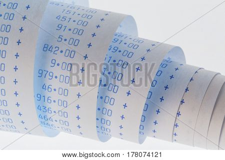 computing strips of calculator