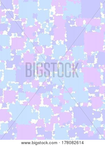 Abstract Background With Flat Blocks. Pattern For Autumn Concept.