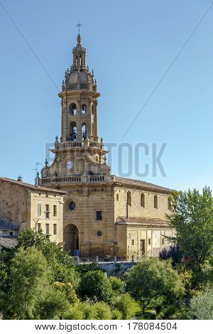 Parish church of San Miguel in Cuzcurrita La Rioja Spain