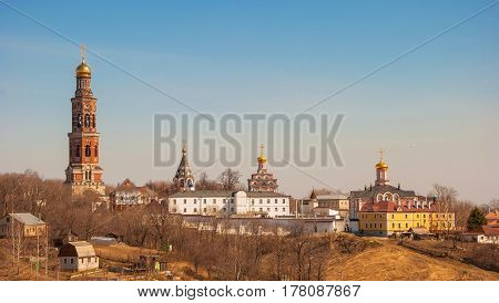 View of St. John the Theological Monastery in Ryazan Region