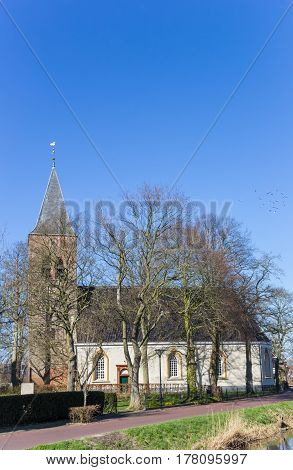 Medieval Church In The Historic Village Zuidwolde