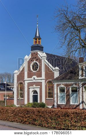 Reformed Church In The Historical Village Thesinge