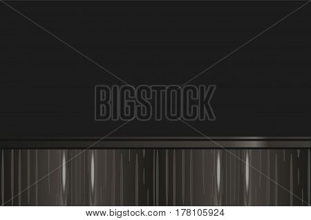 Black background with wood texture  imitation. Wallpaper.