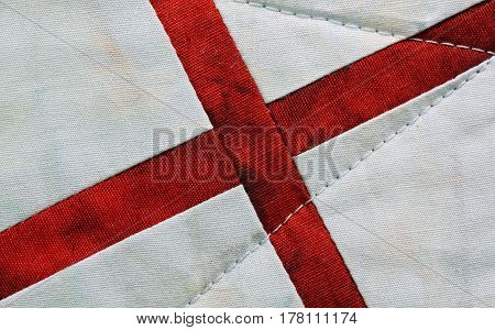 Red Cross On A White Background