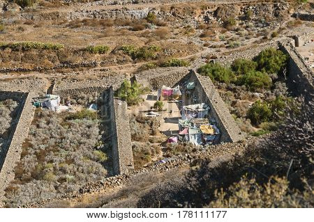 Dropout Village In Los Cristianos, Tenerife, Spain