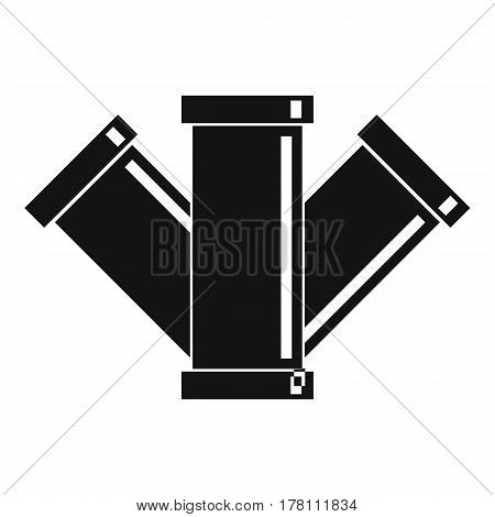 Sewerage icon. Simple illustration of sewerage vector icon for web