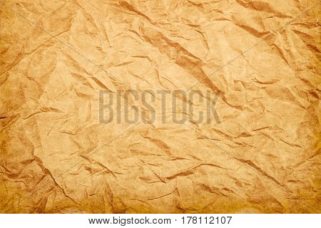 Rough wrinkled paper texture background vintage style