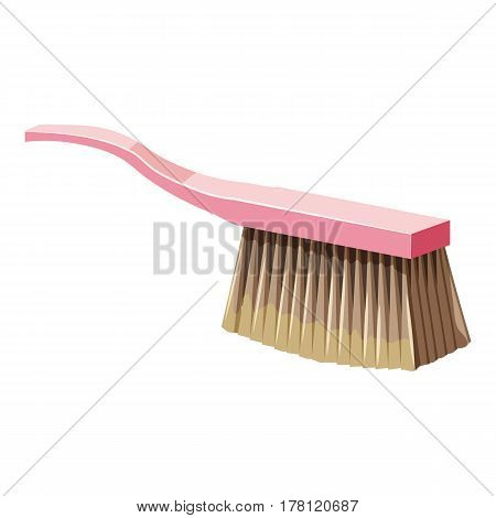 Brush for cleaning icon. Cartoon illustration of brush for cleaning vector icon for web